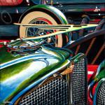 Duesenberg Car Art Print|Duesy Hood Ornament