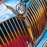 MG Car Art Print|MGA Grille