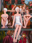 Mannequin Art Print|Bathing Beauties