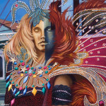 Mannequin Art Print|Carnivale