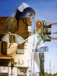 Mannequin Art Print|Cross Roads