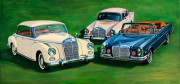 Mercedes Benz Car Art Print|Beautiful Creatures