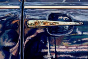 VW Car Art Print|Volkswagon Door Handle