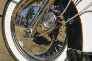Harley Davidson Motorcycle Art Print|Bayou Bikers