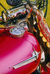 Harley Davidson Motorcycle Art Print|Her Story