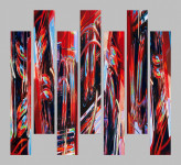 Abstract Car Art Prints|Hot Rod Pipes