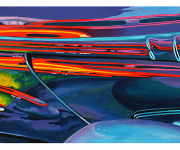 Abstract Car Art Print|Zoom Zoom