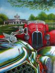 Alfa Romeo Car Art Print|Dayton Concours