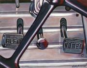 Alfa Romeo Car Art Print|Alfa  Pedals