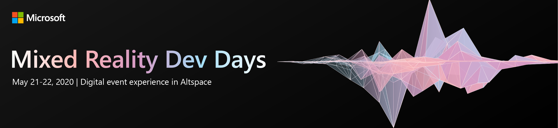 Mixed Reality Dev Days 2020