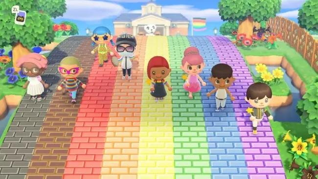 Celebrate Global Pride in Animal Crossing: New Horizons