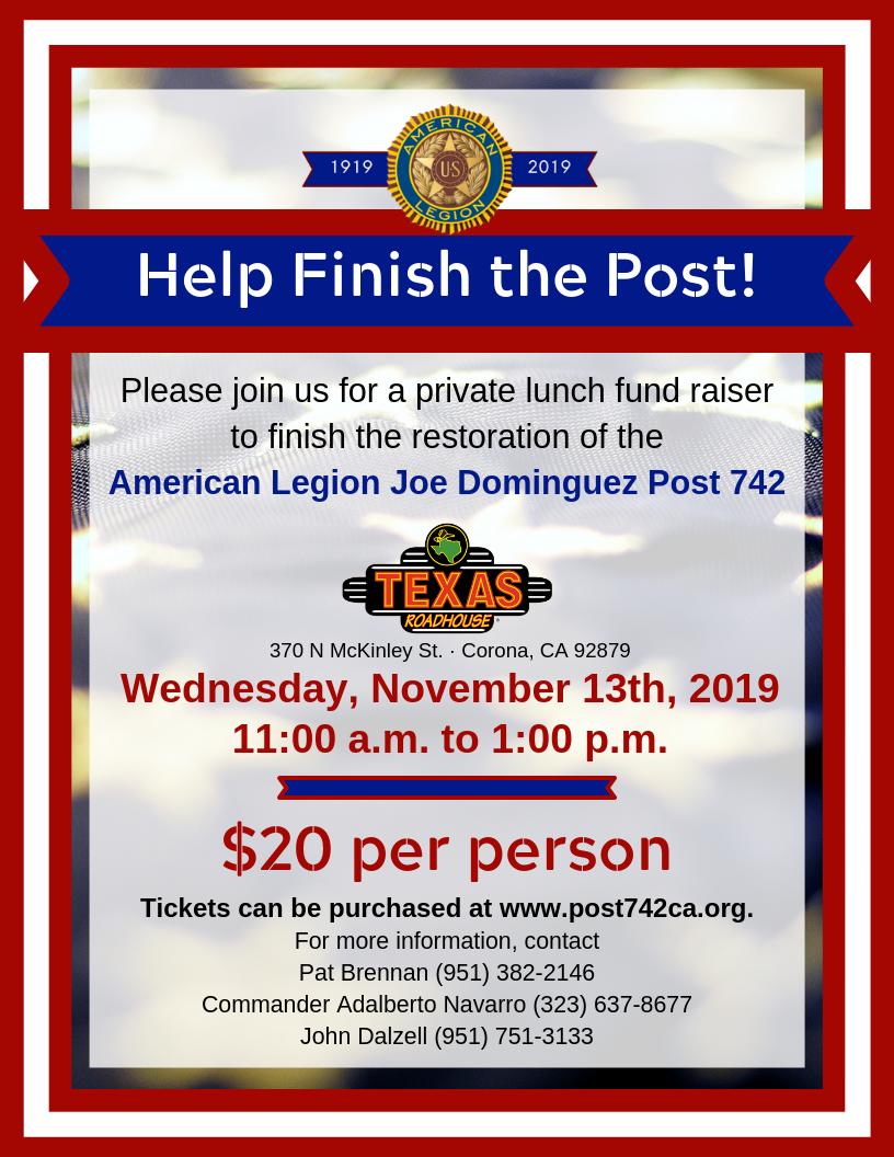 Texas RH Fund raiser