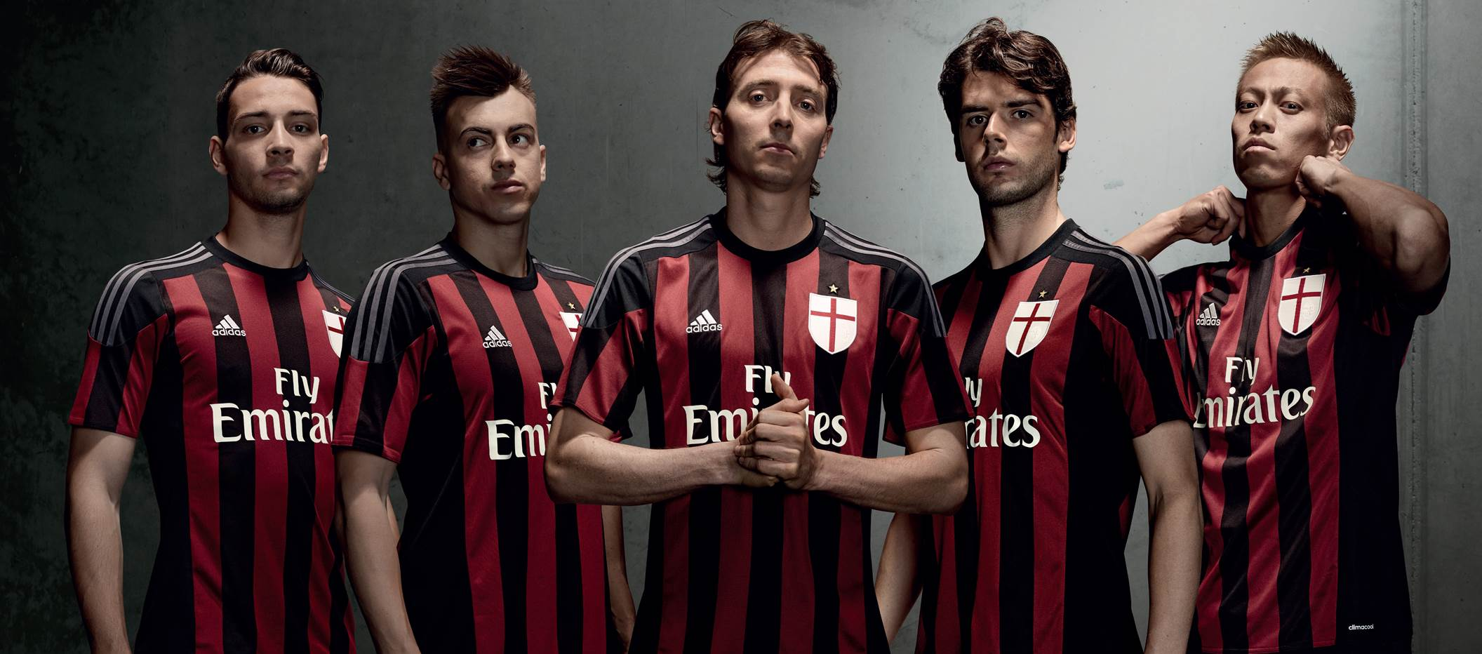 AC Milan Launches New 2015/16 Home Jersey