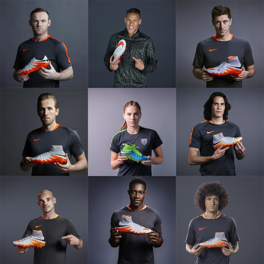 Nike Hypervenom Athletes