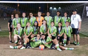 99 Girls Strong Showing at Presidents Cup Regionals 2015