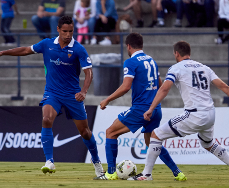 OC Blues FC Returns to Form to Defeat Whitecaps FC 2, 3-2