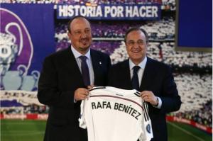 Rafael Benitez is Real Madrid's new coach