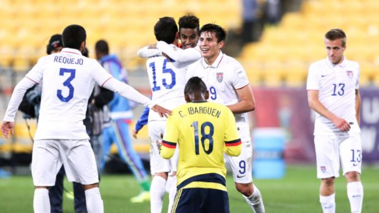 U-20 World Cup Recap: U.S. against Colombia