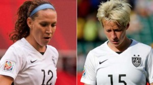 Who is going to replace Megan Rapinoe and Lauren Holiday?