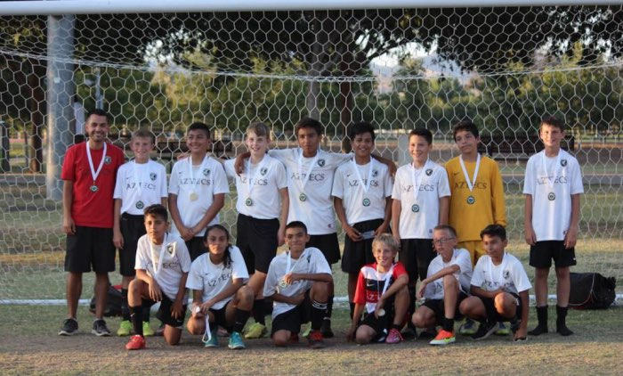 CC Aztecs B02 get second place in the Santa Clarita Magic Cup