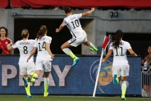 USWNT beats China and advances to semifinal