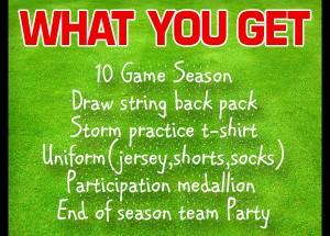 Vista Storm FC 2015 Fall Recreation Sign-ups