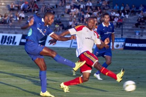 Denzel Slager's Goal Leads OC Blues FC to 1-0 Victory