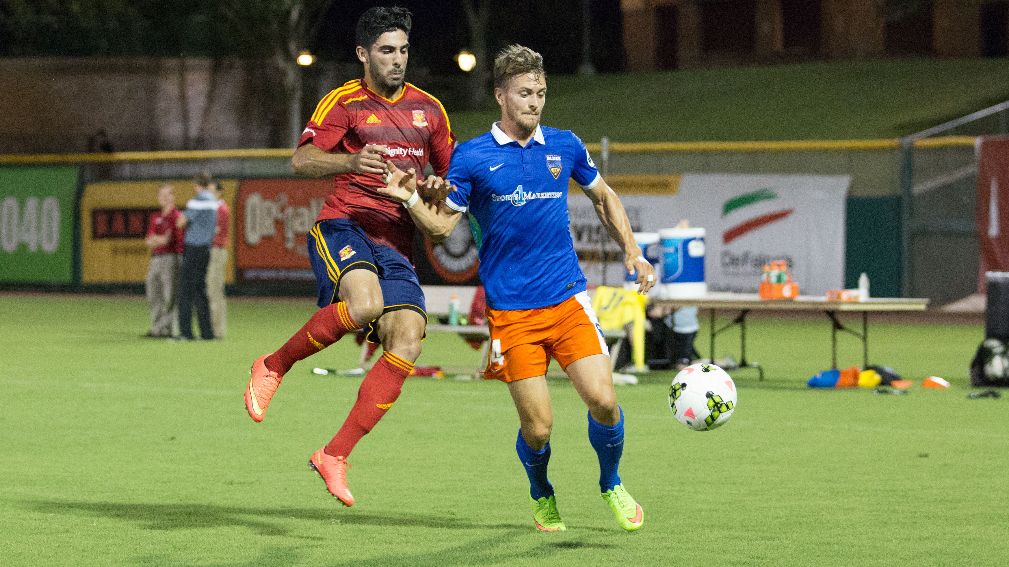 OC Blues FC Falls on the Road at Arizona United