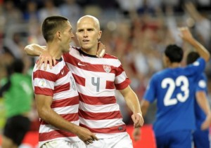 Michael Bradley as the captain of the U.S. in the Gold Cup