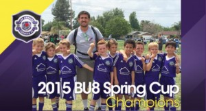 BU8 crowned 2015 Spring Cup Champions