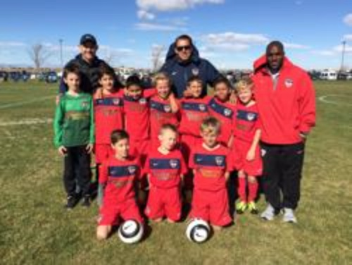 BU10 NMSC Waves had a great run at State Cup (Round of 16).