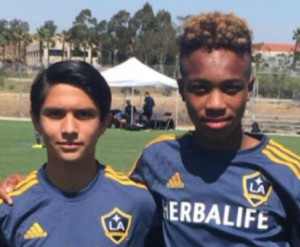 Heat FC Players at LA Galaxy Academy!