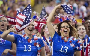 Women's World Cup final is the most watched game ever in U.S.