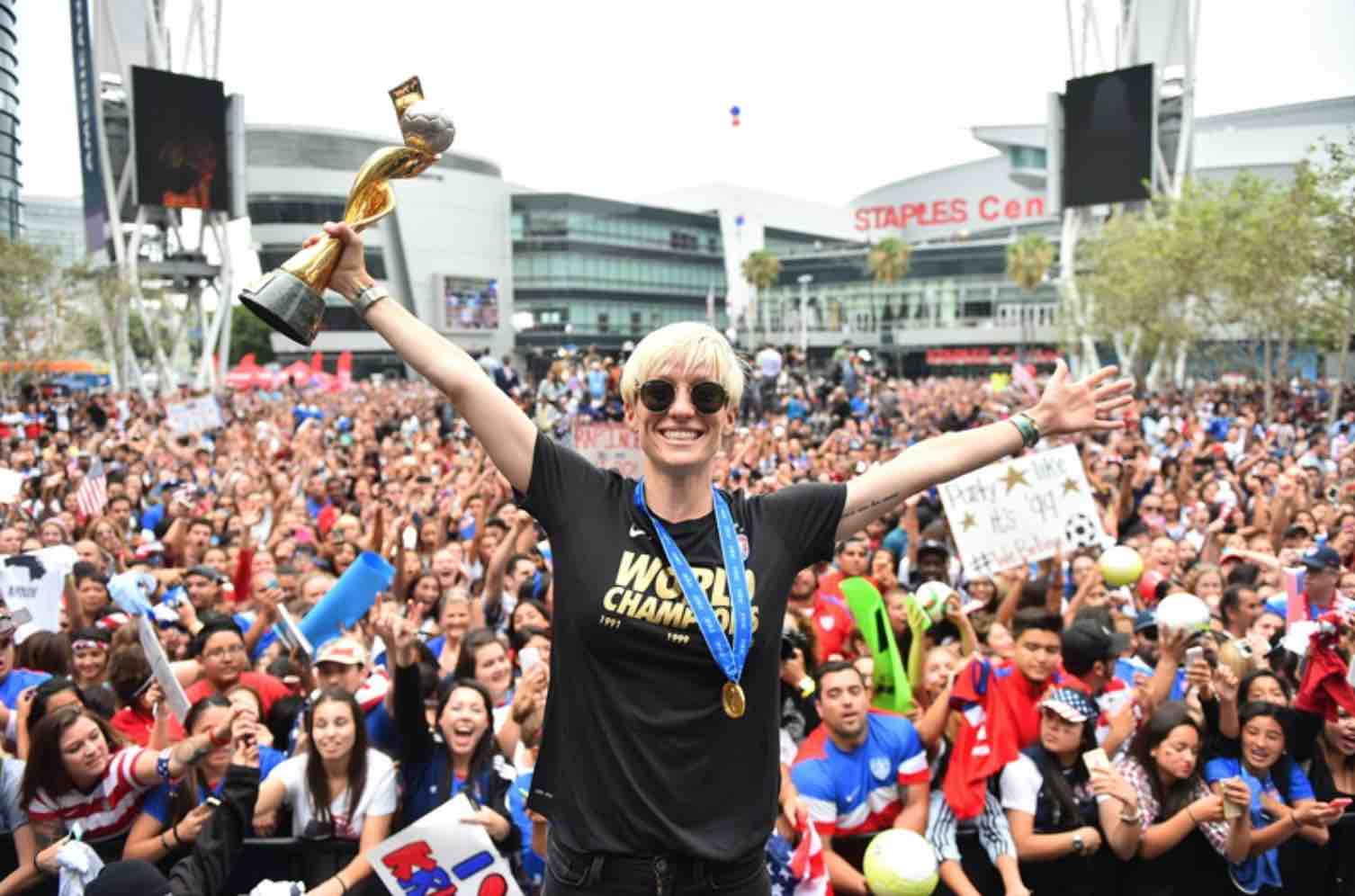 USWNT back in the U.S. with first stop in LA