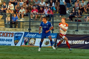 Blues Look for Season Sweep of Real Monarchs SLC Saturday