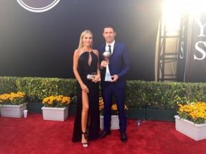 Robbie Keane wins Espy award