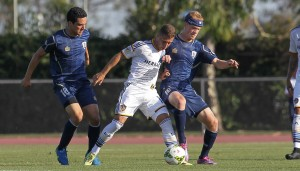 LA Galaxy II top Austin Aztex on the road