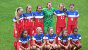 U-17 WNT training camp in Carson, California for World Cup Qualifying