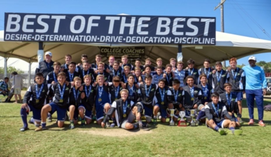 WEST COAST FC TEAMS DOMINATE AT THE PRESTIGIOUS 2015 soccerloco SURF CUP