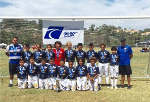 TFA PUTS THREE INTO SEMI'S AT soccerloco SURF CUP