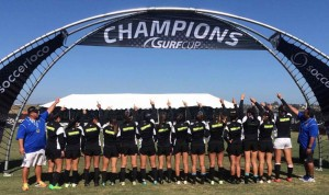 Surf Hawaii Women's U18 soccerloco SURF CUP CHAMPIONS