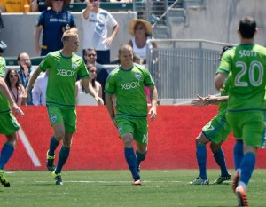 San Diego native Chad Barrett pulls hamstring during goal celebration