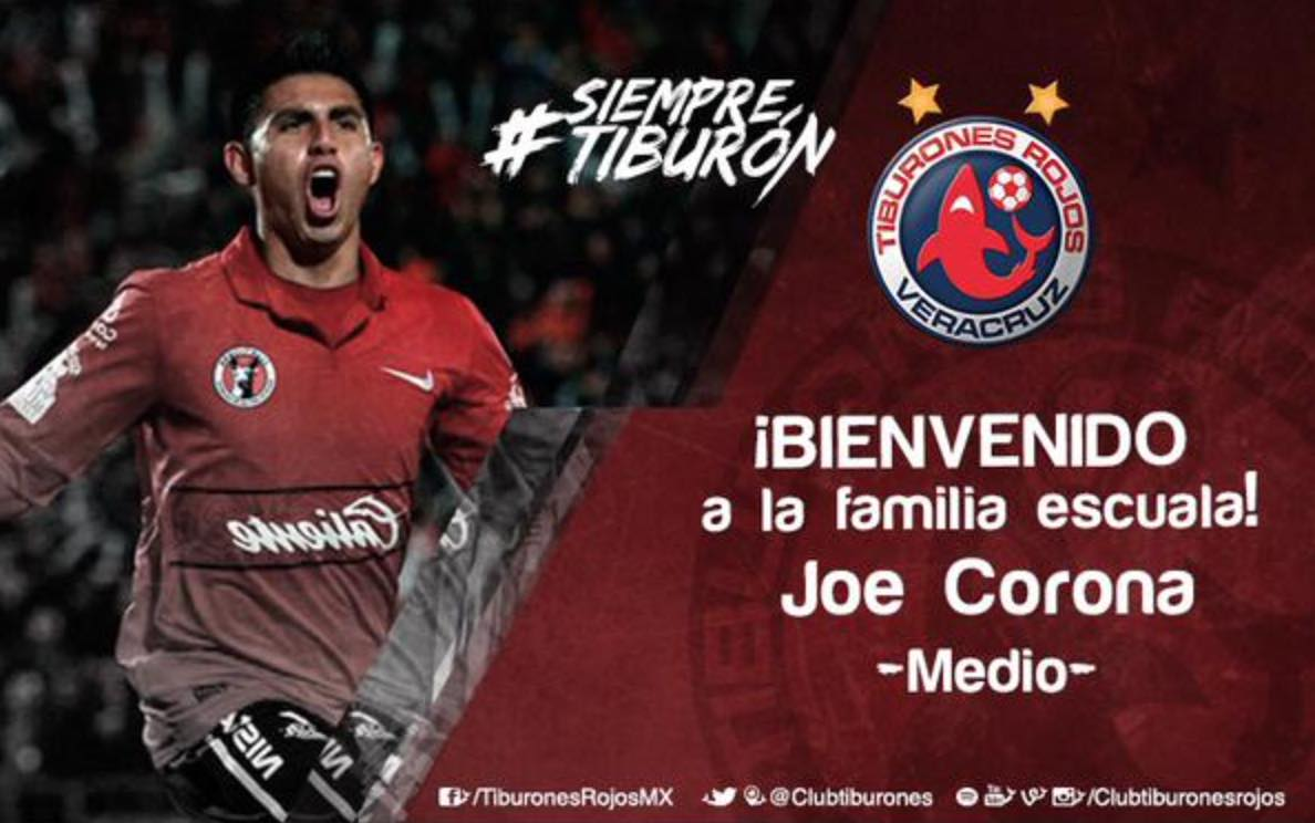 San Diego native, Joe Corona, leaves home club Tijuana Xolos