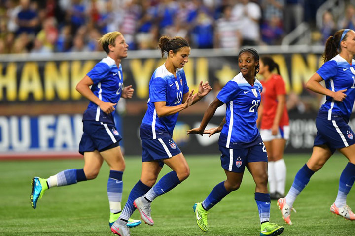 USWNT Continues Victory Tour Against China in Glendale, Ariz.