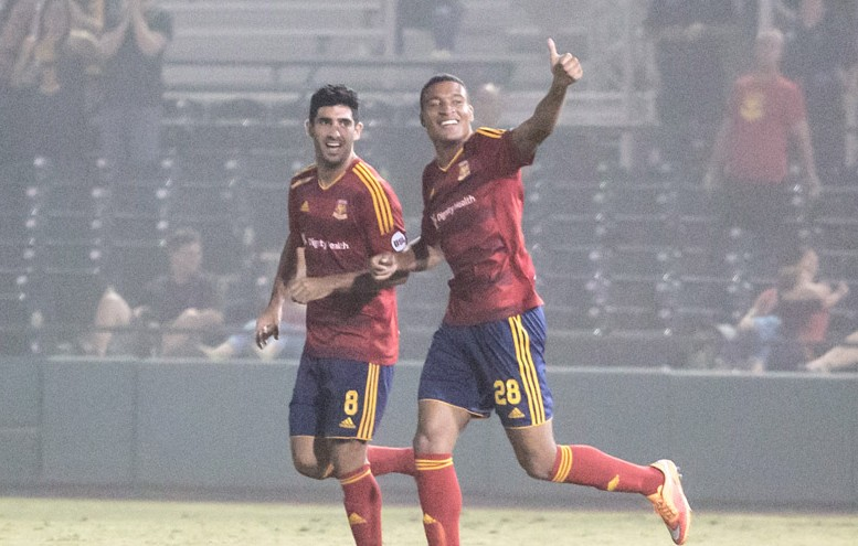 LA Galaxy II fall to Arizona United SC on the road, 2-1
