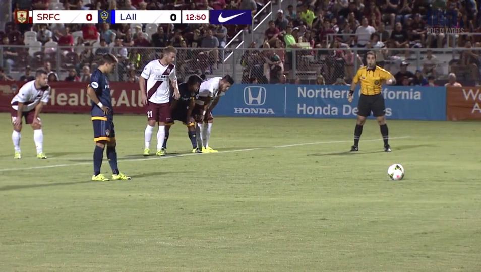 LA Galaxy II advance to Conference Semi Finals