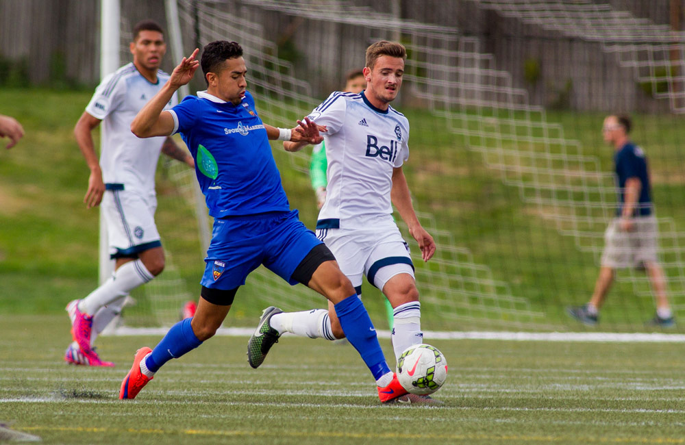 Griffiths Scores as Blues Draw 1-1 in Vancouver