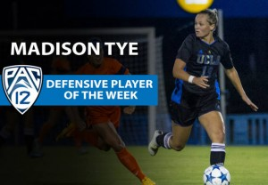 Tye Earns Pac-12 Defensive Honors