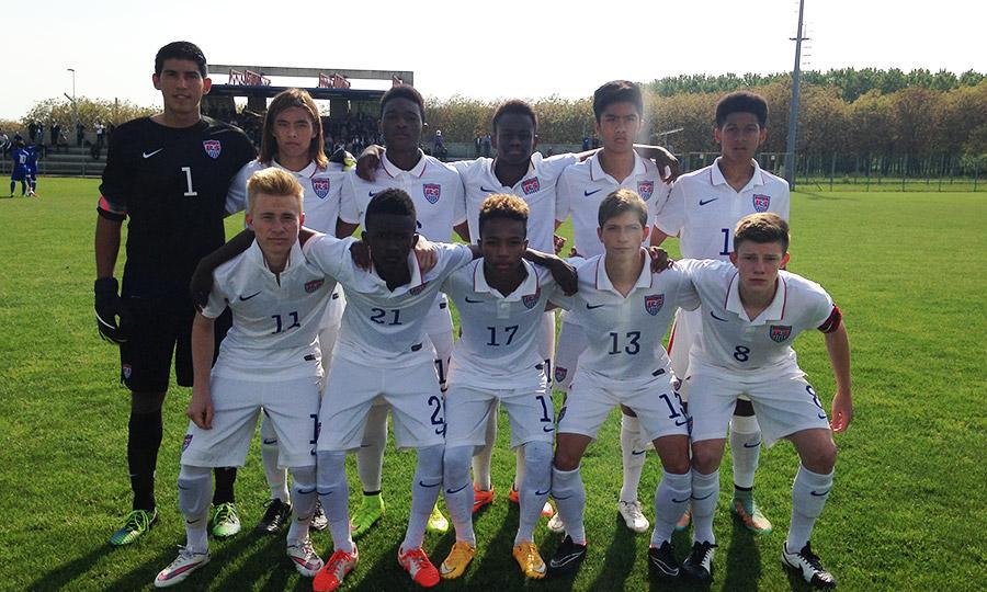 14 California natives named to U-15 Boys' National Team camp