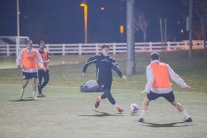 U-15 Academy player Adrian Mendoza